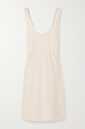 Skin Catherine Pima Cotton-jersey Nightdress - Pastel pink