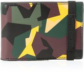 Calvin Klein Men's Slim Fold Wallet with Elastic