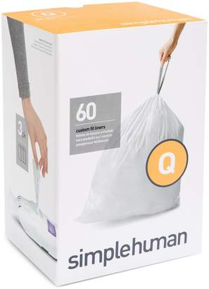 Simplehuman 60-Pack Custom-Fit Recycling Liners