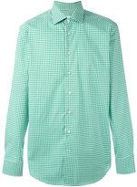 Etro checked button down shirt - men - Cotton - 40