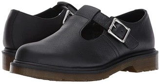 Dr. Martens Polley PW T-Bar Mary Jane (Black Virginia) Women's Maryjane Shoes