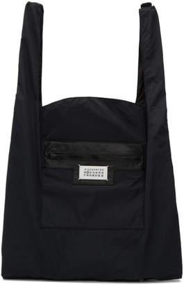Maison Margiela Black Dual-Wear Tote