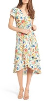 WAYF Women's Oleander Wrap Midi Dress