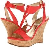 Belle by Sigerson Morrison Bela (Coral Red Leather) - Footwear