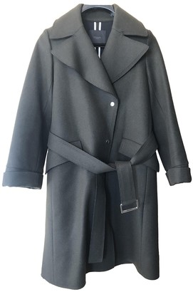 Mo&Co. \N Green Wool Coat for Women