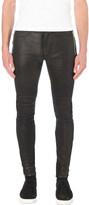 Balmain biker slim-fit skinny jeans