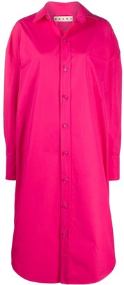 Marni Oversized Midi Shirt Dress
