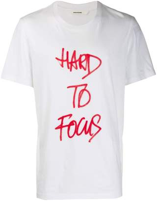 Zadig & Voltaire Zadig&Voltaire Hard to Focus graphic T-shirt