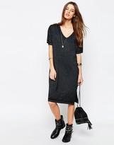 Asos Casual Burnout T-shirt Dress