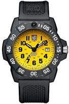 Luminox Men's 'SEA' Swiss Quartz Stainless Steel and Rubber Casual Watch, Color:Black (Model: 3505.SC.SET)