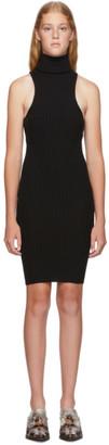 giu giu Black Nonna Mini Dress
