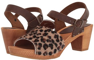 Sanita Camilla (Leopard) Women's Dress Sandals