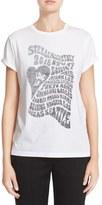 Stella McCartney Women's 'Love In' Print Cotton Tee