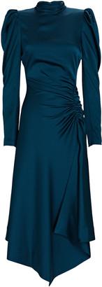 Jonathan Simkhai Reese Satin Crepe Midi Dress