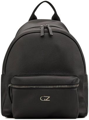 Giuseppe Zanotti Double Top Zip Logo Backpack