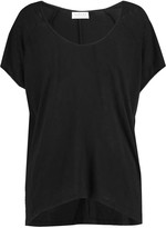 Velvet by Graham & Spencer Slub modal and cotton-blend T-shirt