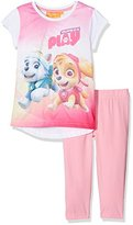 Nickelodeon Girl's Paw Patrol Puppies At Play T-Shirt and Leggings Set