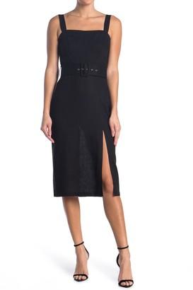 re:named apparel Jayden Belted Dress