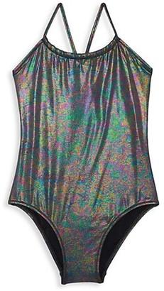 Vilebrequin Little Girl's & Girl's One-Piece Moonlight Swimsuit