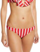 Milly St. Lucia Striped Bikini Swim Bottom