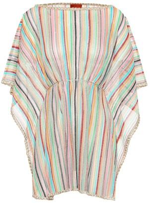 Missoni Mare Striped knit kaftan