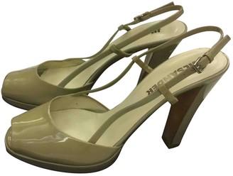 Jil Sander Grey Patent leather Sandals