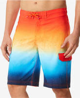 "Speedo Men's Spray Blend Ombre E-Board 9"" Swim Trunks"