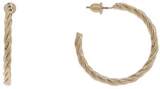 Basque Twist Hoop Earring Gold