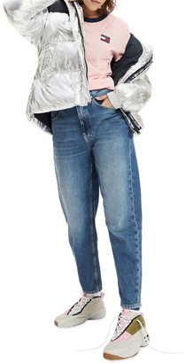 Tommy Jeans High Rise Tapered Mom Jeans Mid