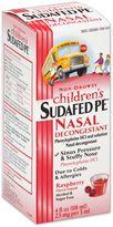 Bed Bath & Beyond Children's Sudafed® PE Nasal Decongestant 4 oz. Liquid
