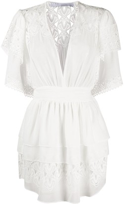 IRO Lace Detail Layered Dress