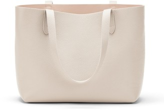 Cuyana Small Structured Leather Tote