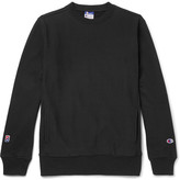 Beams Champion Slim-Fit Loopback Cotton-Blend Jersey Sweatshirt
