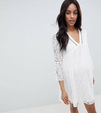 Queen Bee Allover Lace Mini Dress