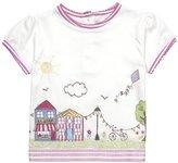 Jo-Jo JoJo Maman Bebe Summers Day T-Shirt (Baby)-White-12-18 Months