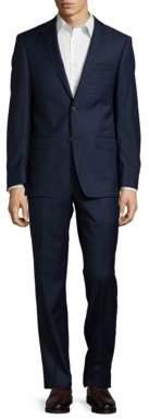 Michael Kors Wool Two-Button Pants Suit