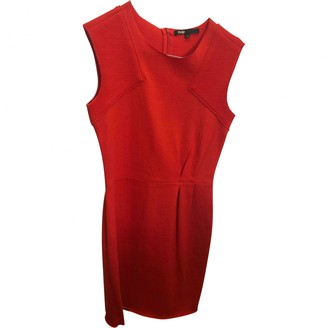 Maje Red Wool Dresses