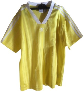 adidas Yellow Top for Women