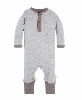 Burt's Bees Baby Baby Girls Romper Jumpsuit 100% Organic Cotton One-Piece Coverall and Toddler Footie
