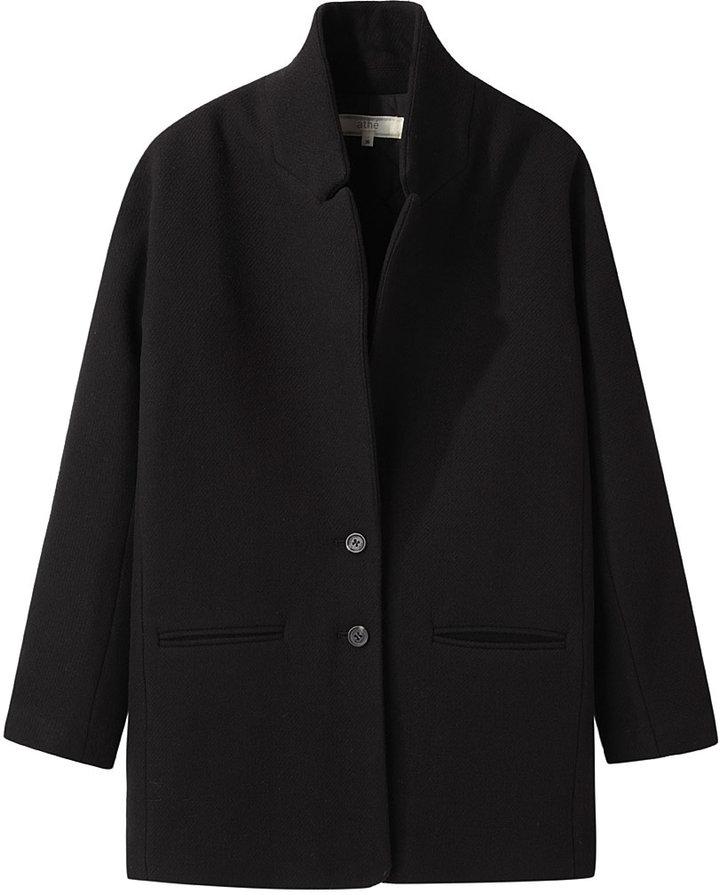 Vanessa Bruno Wool Twill Manteau Coat