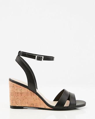 Le Château Ankle Strap Cork Wedge Sandal
