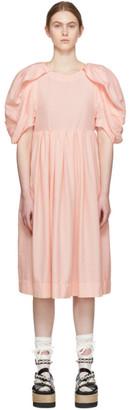 Comme des Garcons Pink Spun Broad Dress