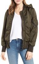 Derek Lam 10 Crosby Women's Hooded Bomber Jacket