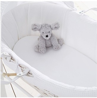 Silentnight pk 2 Jeresy Fitted Moses Basket Sheets