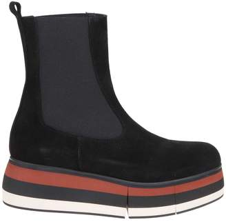 Paloma Barceló black Suede Ankle Boot