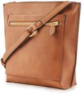 Warehouse Double Zip Crossbody Bag