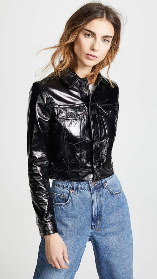 A2B Patent Leather Jacket
