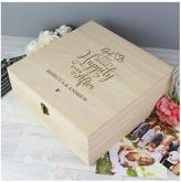 Very Personalised Happy Ever After Memories Box