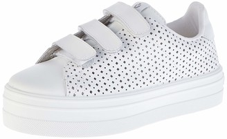 Victoria Unisex Adults Barcelona Piel Perforado Trainers