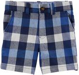Carter's Boys 4-8 Plaid Shorts